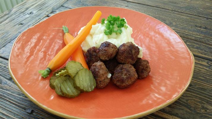 potatismos av färskpotatis